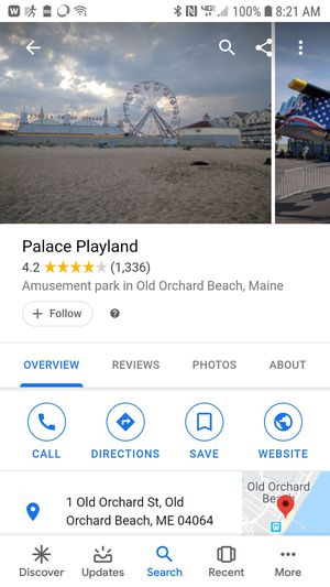 2 all day tickets to old orchard palace play land for Sale in Old Orchard Beach, ME