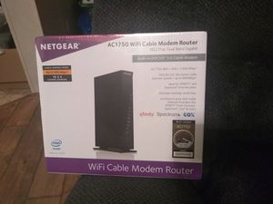 Nexgear ac1750 modem/router combo for Sale in Springfield, TN