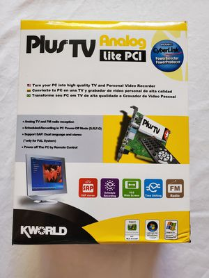 Plus TV Lite Analog PCI Card for PC for Sale in Las Vegas, NV