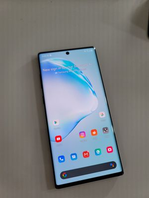 Note 10+ plus unlocked 256gb unlocked black for Sale in Lake Forest, CA