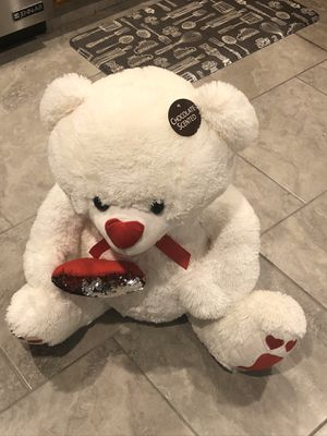 Plush Giant Chocolate scented Teddy Bear for Sale in Dearborn Heights, MI