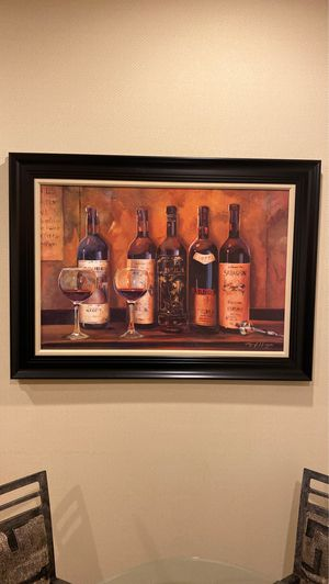 Wine picture for Sale in Phoenix, AZ