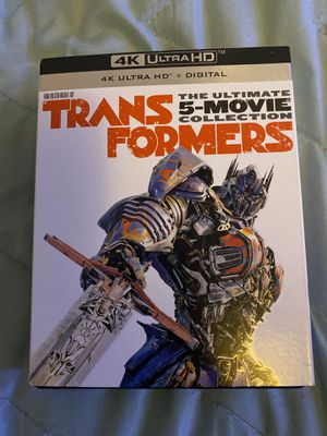 4k Transformers Collection (Digital Movies) for Sale in Fairfield, CA