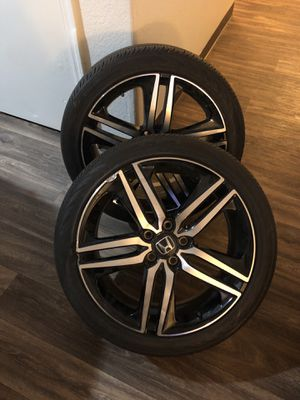 2 rims from Honda 2016 Accord sport for Sale in Laveen Village, AZ