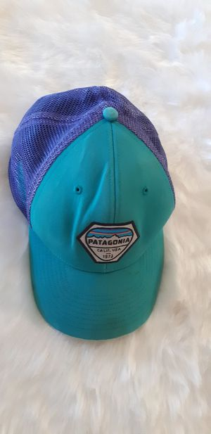 Patagonia Cap Blue Teal Purple for Sale in Garden Grove, CA