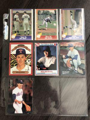 Nolan Ryan vintage collectible cards for Sale in Los Angeles, CA
