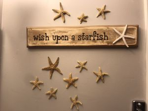 FUN hand made sign & starfish for Sale in Raleigh, NC