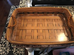Longaberger collector Club 1999 rectangular basket for Sale in Haverhill, MA