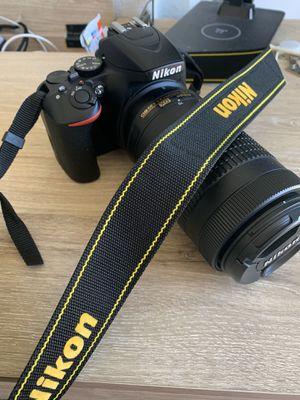 Nikon - D3500 DSLR Camera with AF-P DX NIKKOR 18-55mm f/3.5-5.6G VR and AF-P DX NIKKOR 70-300mm for Sale in Mesa, AZ