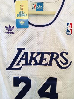 Adidas NBA Lakers Kobe Bryant white (Brand New) for Sale in San Francisco, CA