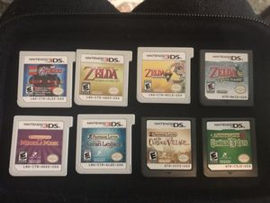 Nintendo Zelda and Professor Layton 3ds and Ds games for Sale in San Francisco, CA