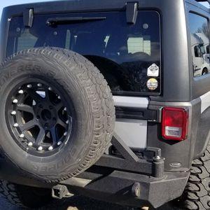 Jeep Wrangler JK/JKU Rear Bumper with Tire Carrier for Sale in Roseville, CA
