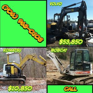 Mini Excavators For Sale Crawler Loader for Sale in Cashiers, NC