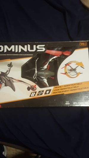 Used, Dromida Ominus Unmanned Aerial Vehicle (UAV) Quadcopter Ready-to-Fly (RTF) Drone with Radio System, Batteries and USB Charger (Red) for Sale for sale  Chicago, IL