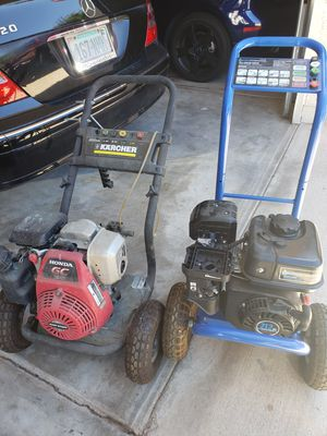 2 power washers for Sale in Mesa, AZ
