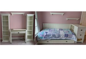 Beautiful 5+ piece child's white bedroom set for Sale in Brookfield, CT