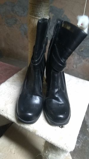 Faux leather boots. Size 9. Xhilaration brand for Sale in White Haven, PA