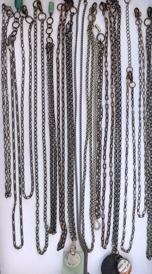 16 chain necklaces for jewelry making for Sale in Seattle, WA