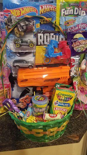Nerf gun easter basket for Sale in Ontario, CA