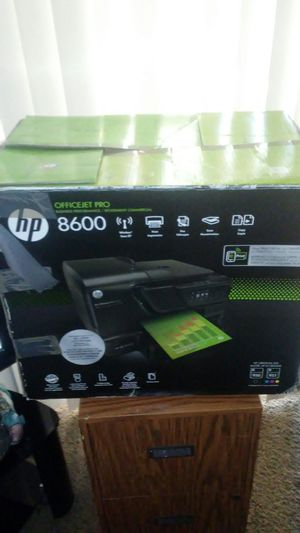 HP 8600 printer fax scanner Wireless for Sale in Fresno, CA