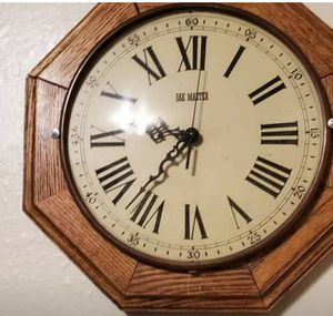 Beautiful wood wall clock for Sale in Pueblo, CO