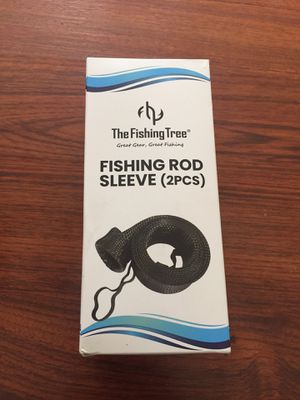 The fishing tree rod sleeves two pack new in box for Sale in Pomona, CA