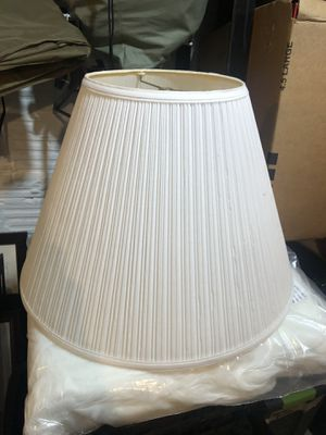 "19"" large lamp shade for Sale in Washington, DC"