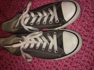 Grey Converse for Sale in El Dorado, AR