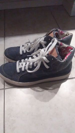 NEW coach poppy denim shoes for Sale in Anaheim, CA
