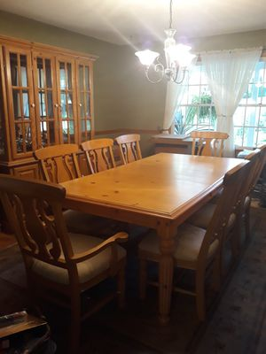 Ashley Dinning Room Table, Hutch and Buffet for Sale in Jackson Township, NJ