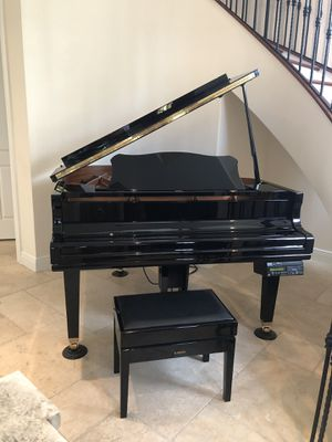 Yamaha DCG1A Disklavier Mark III Ebony Baby Grand Piano w/ Bench for Sale in Fort Lauderdale, FL