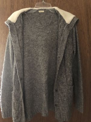 Grey Cardigan Size small for Sale in New Britain, CT
