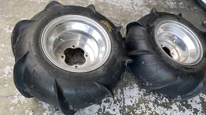 paddle tires and rims. ITP Yamaha for Sale in Tampa, FL