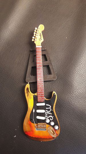 Handcrafted Miniature Electric Guitar for Sale in Costa Mesa, CA