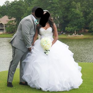 White wedding dress size 4 for Sale in Lithonia, GA