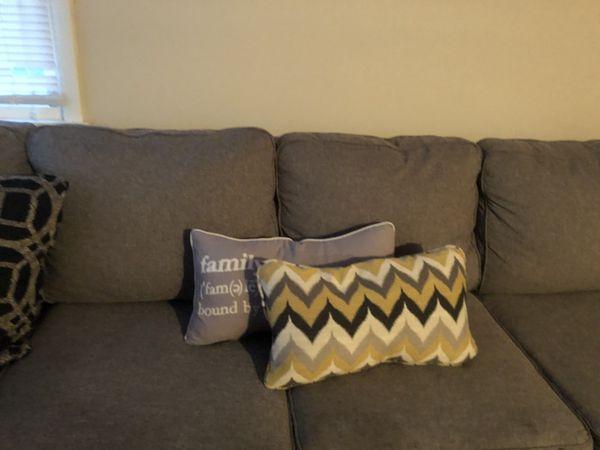 Ashley furniture throw pillows