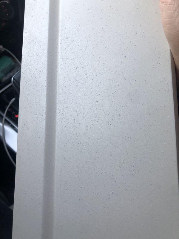 Small white shelf