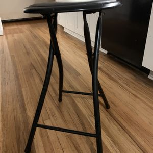 Foldable Metal Stool for Sale in Vancouver, WA