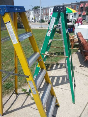 Ladders On Sale Today Great Condition Needs Home Today for Sale in Baltimore, MD