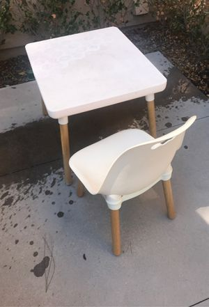 Kids table and chair set for Sale in Irvine, CA
