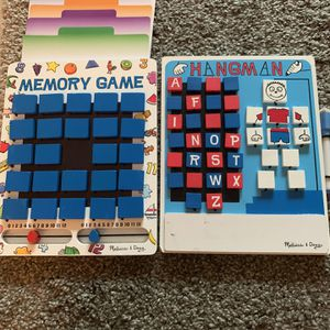 Melissa and Doug games both for $30 for Sale in Fort Lauderdale, FL