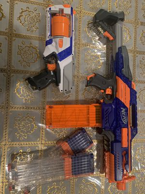Nerf guns elite for Sale in Ontario, CA