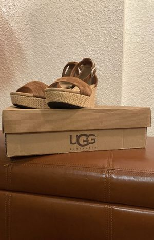 Size 10 W Leanne UGG Australia Wedges for Sale in Los Angeles, CA