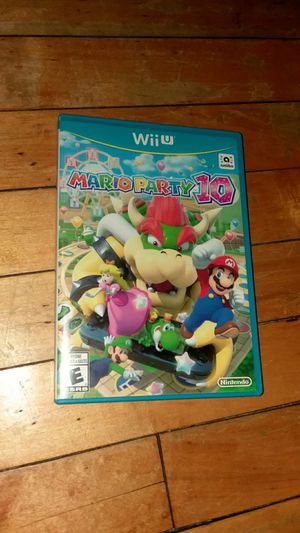 WII U Mario party 10 for Sale in Chicago, IL