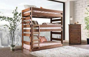 Triple twin bunk bed for Sale in West Jordan, UT