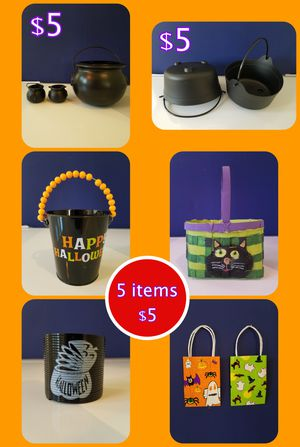 Halloween Candy Buckets, Baskets, Bags for Sale in Mesa, AZ