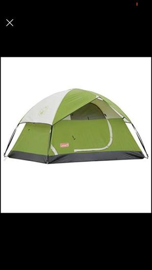 Coleman camping tent 2 persons for Sale in Dallas, TX