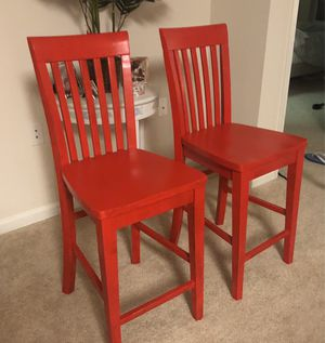 Ashley Furniture Wooden Bar Chairs - NEW for Sale in North Bethesda, MD