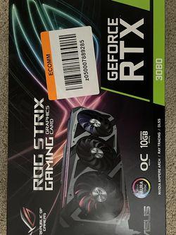 ASUS ROG Strix RTX 3080 OC for Sale in Riverside,  CA