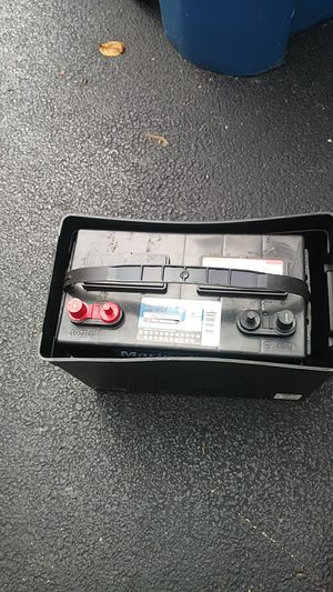 Marine/RV/pickup battery for Sale in Aurora, IL